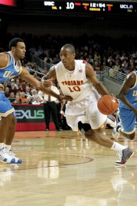 DeRozan, seen here playing with the Trojans in 2009, is only the 4th Trojan ever to play in an All-Star game.