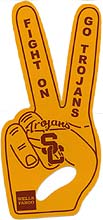 The first 1,000 students will receive a gold foam fingerPicture courtesy of USC Athletics