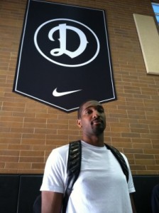 Marcus Johnson at the Drew League
