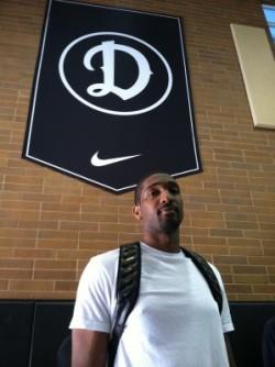 Marcus Johnson at the Drew League