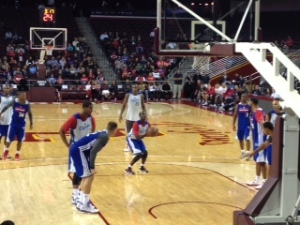 Clippers PG and UCLA product Darren Collison had the game winning bucket in the Clippers scrimmage.