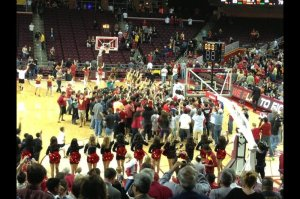 USC Upset No. 11 Arizona on February 27, 2013