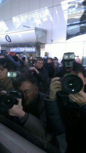 Media in Beijing (Courtesy of Jerry Dupree)