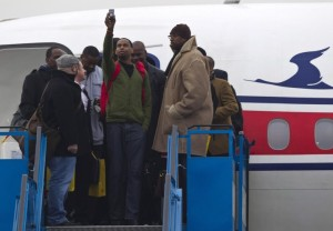 Jerry Dupree lands in North Korea (Yahoo)
