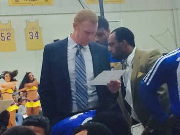 Scalabrine now mans the Santa Cruz bench after being sent down from Golden State. (Jacob Freedman/Galen Central)