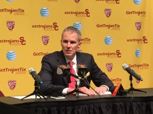 The Trojans won Thursday, but Andy Enfield was less than content on how the game played out.